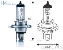 H4-24V Clear汽車燈泡