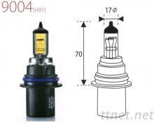 9004-Yellow汽車燈泡